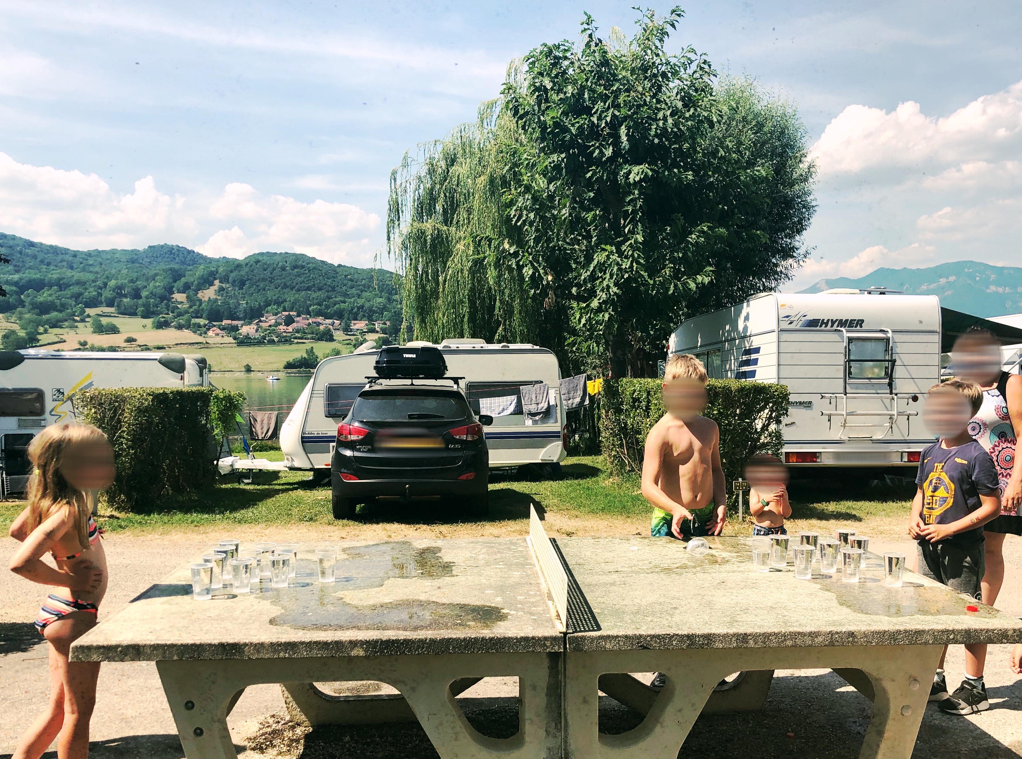 Wateractiviteiten camping 2