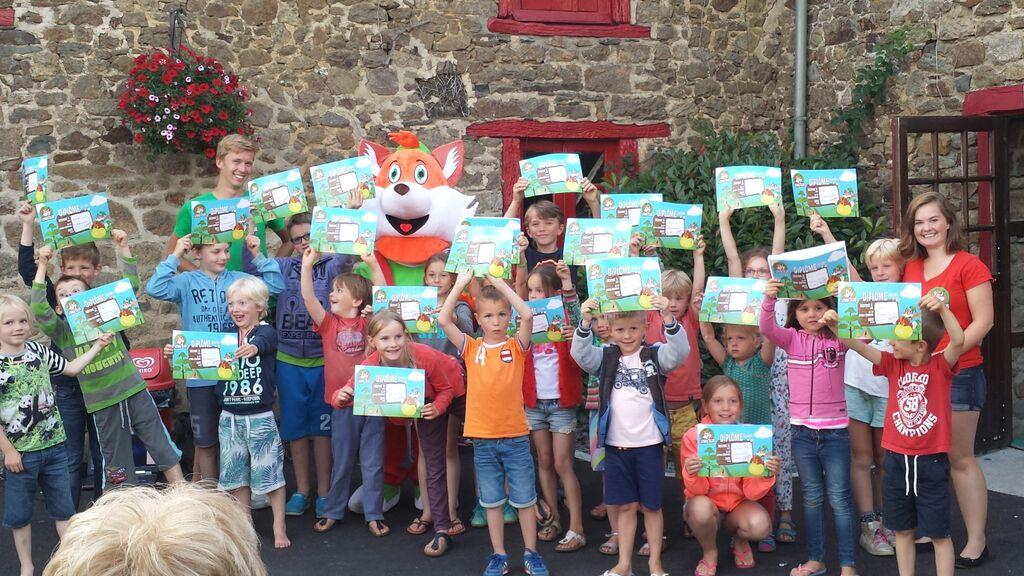 Geslaagde Lenny Speurtocht met 40 kids!