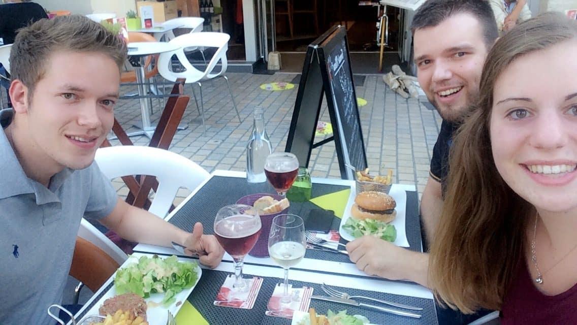 Uiteten in Saumur met Nederlandse jongens!