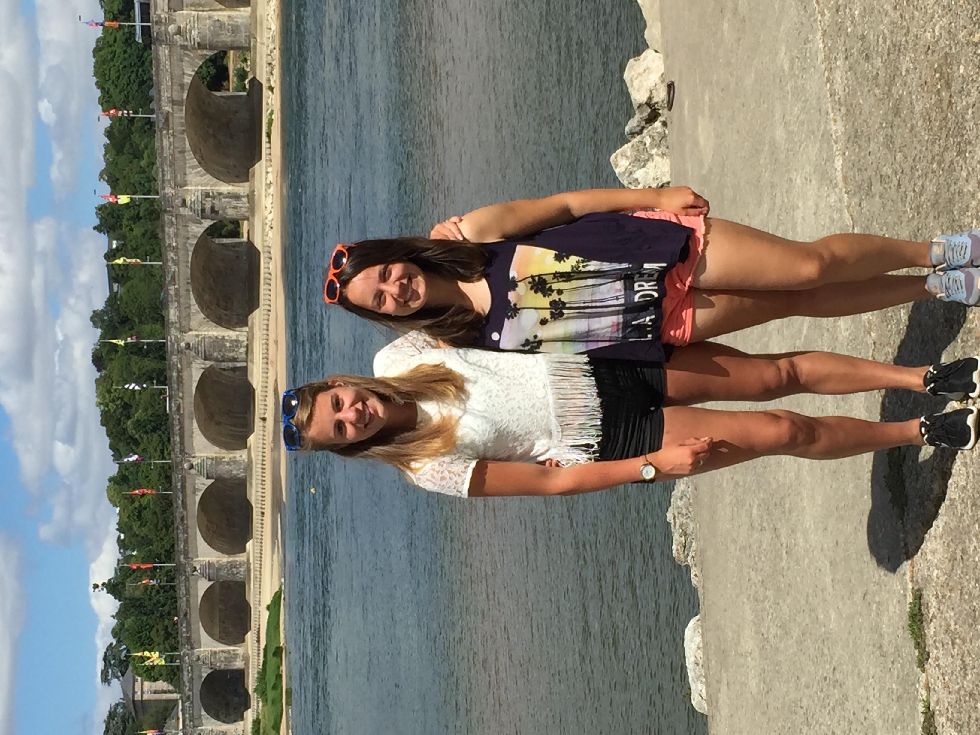 In Tours met Andrea!