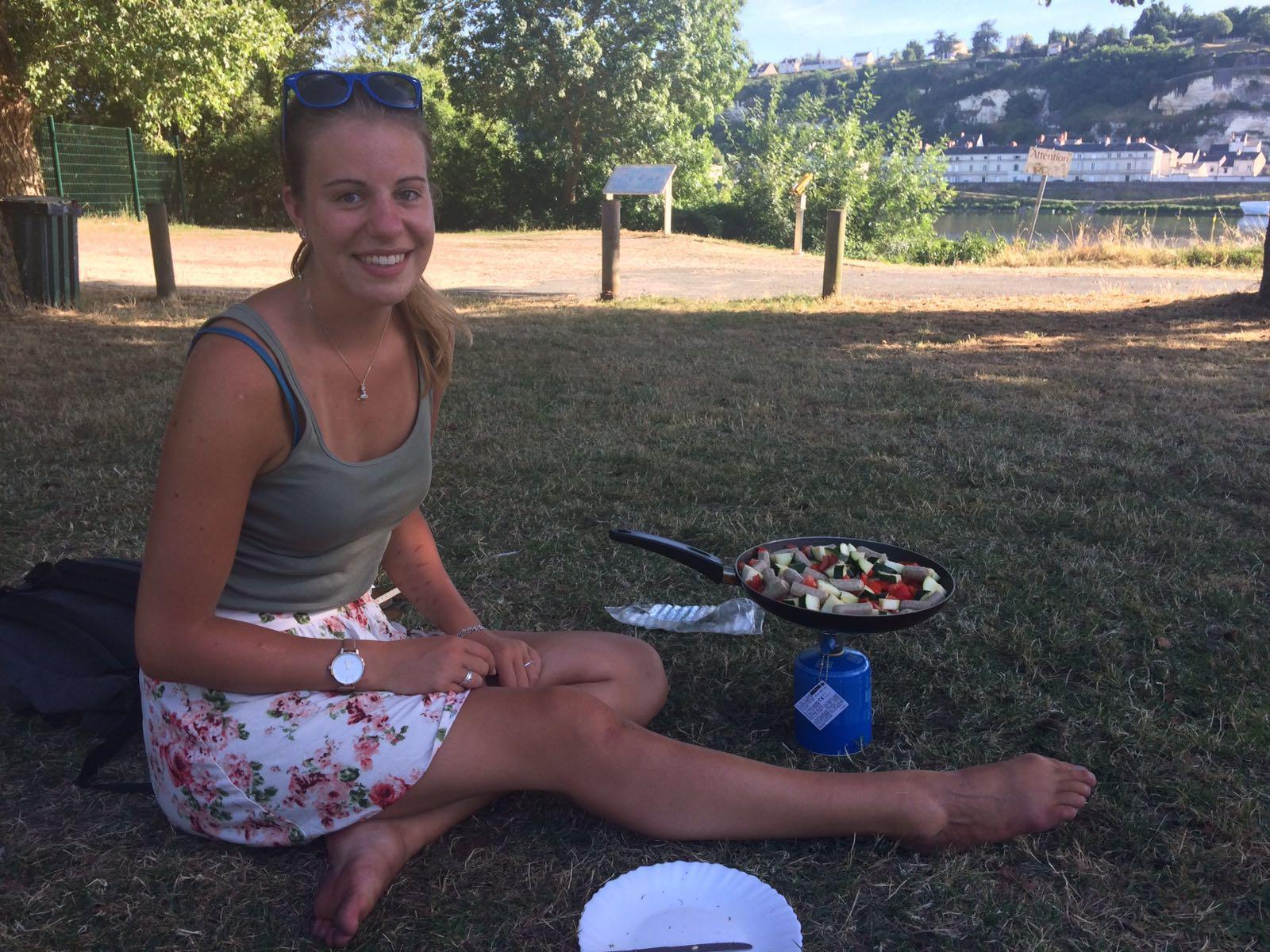 Met Andrea romantisch koken aan Loire!